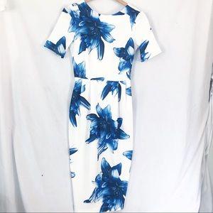 ASOS Wiggle Dress Size 4 Madmen Vintage